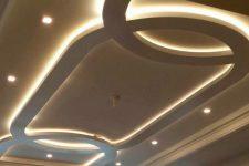 Каковы ключевые особенности потолков из гипсокартона?