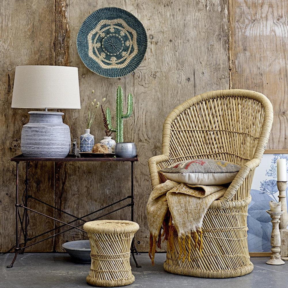 Бамбук в интерьере: ориентир на экотренды