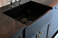 Кухонные столешницы из натурального камня: плюсы и минусы