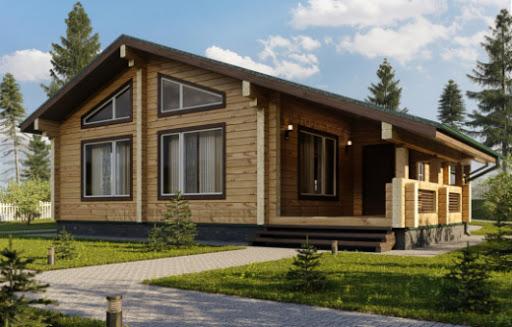 Проекты домов из бруса клееного