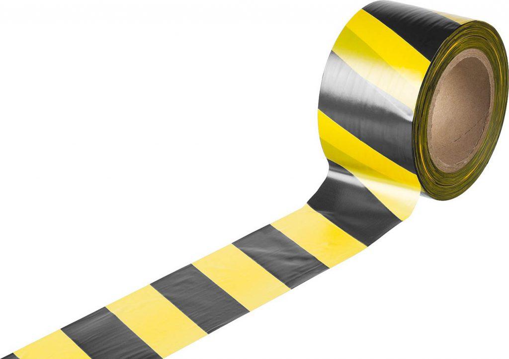 Что представляет собой желто-черная лента?