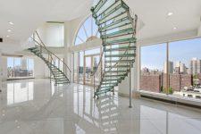 Использование стекла в дизайне интерьера