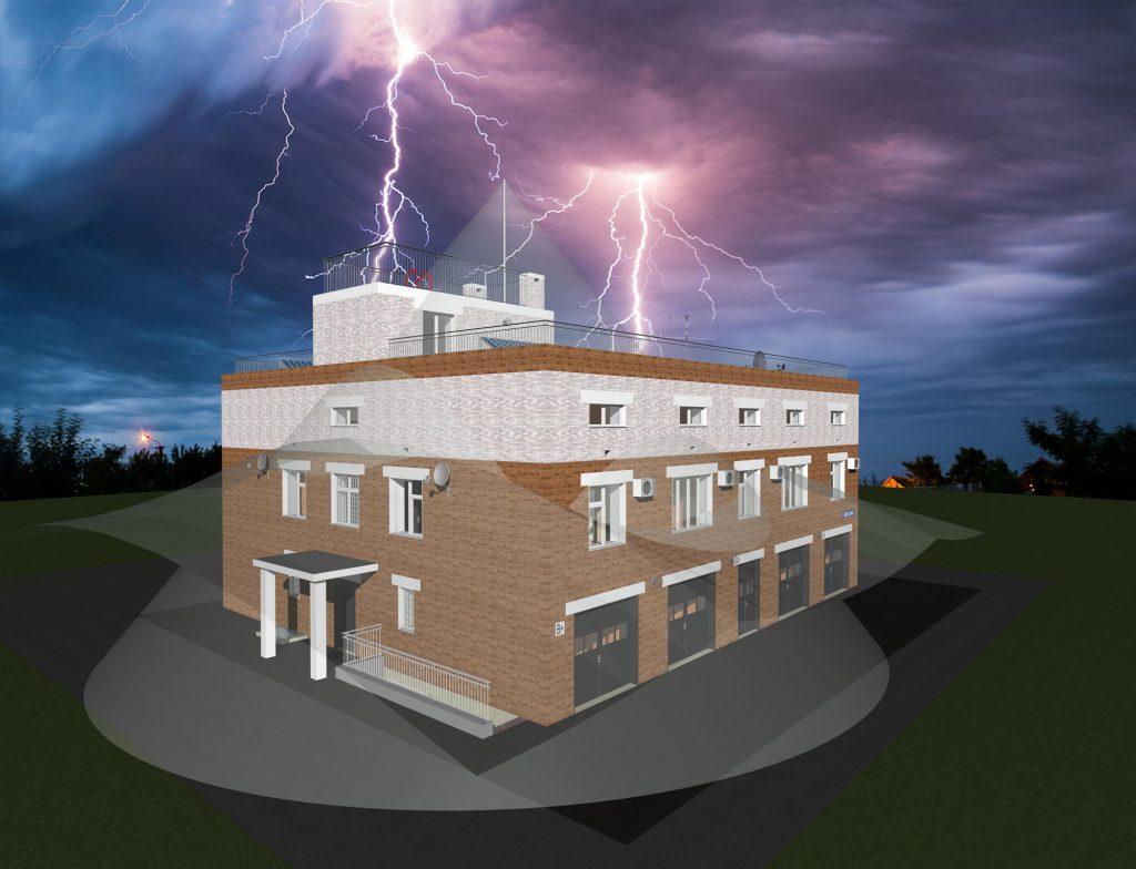 Молниезащита здания