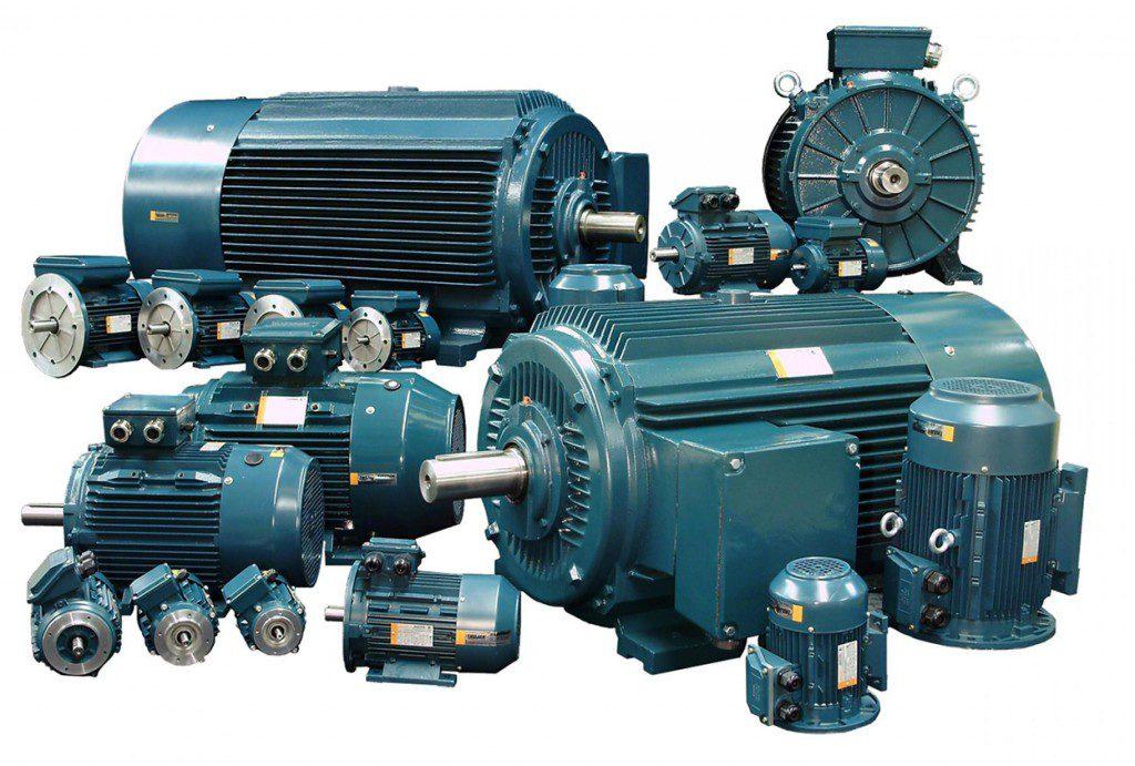 Виды электродвигателей в промышленности и их применение