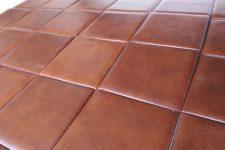 Кожаная плитка: описание материала