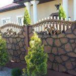 Бетонный забор – плюсы и минусы