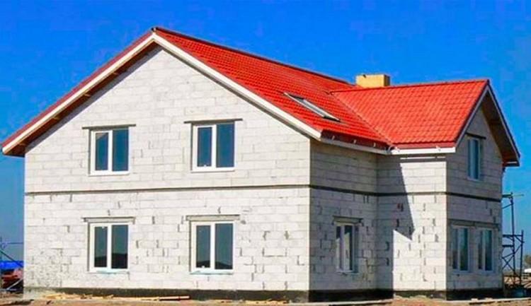 Выбор газобетонных блоков для строительства дома