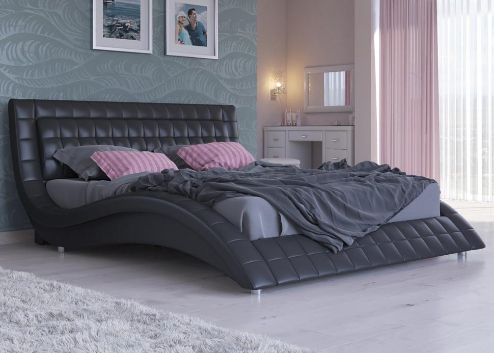 Кровать с высоким изголовьем — особенности выбора