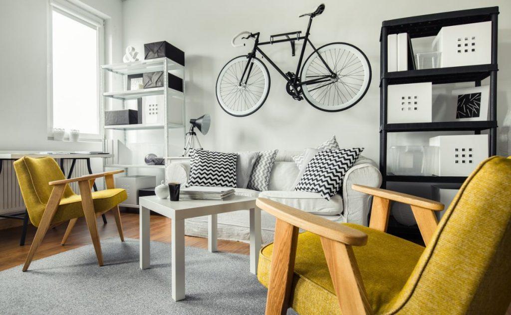 Удобная планировка в однокомнатной квартире