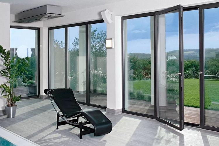 Алюминиевые оконные конструкции для веранды и террасы