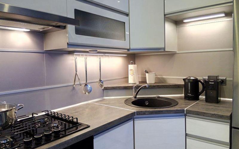 Барные стойки в интерьере кухни