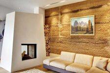 Достоинства и особенности художественной росписи стен в интерьере квартир