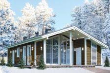 Особенности одноэтажных каркасных домов