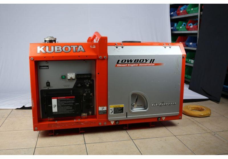 Дизельные генераторы Kubota