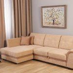 Применение углового дивана