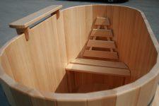 Изысканные купели для бань от компании DoorWood