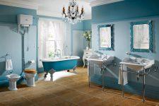 Ретро-дизайн в ванной комнате