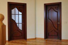 Филенчатые двери: особенности, характеристики, виды
