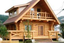 Двухэтажные бани: выбор идеального проекта, наиболее подходящего материала и лучшего исполнителя заказа