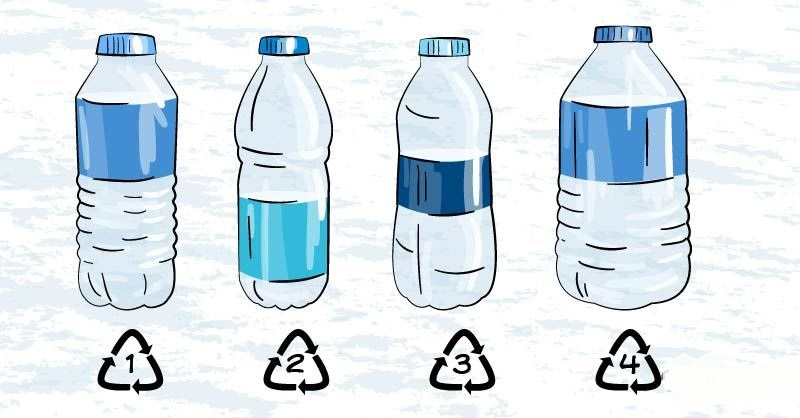 Этикетки на бутылки воды — варианты материала и особенности