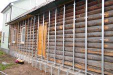 Как подготовить деревянный дом к утеплению