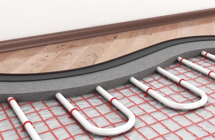 Как устроить теплый пол из металлопластиковых труб
