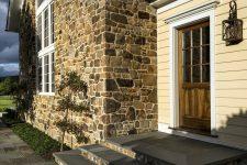 Выбор камня для облицовки фасада