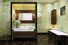 Высота раковины в ванной: что выбрать?