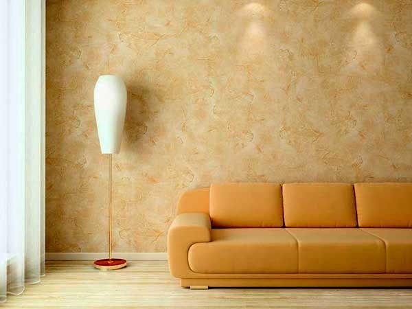 Оформление интерьера и фасада под мрамор декоративной штукатуркой