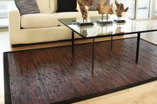 Бамбук как материал для ковров