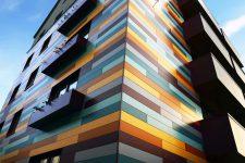 Алюминиевые панели для фасада здания