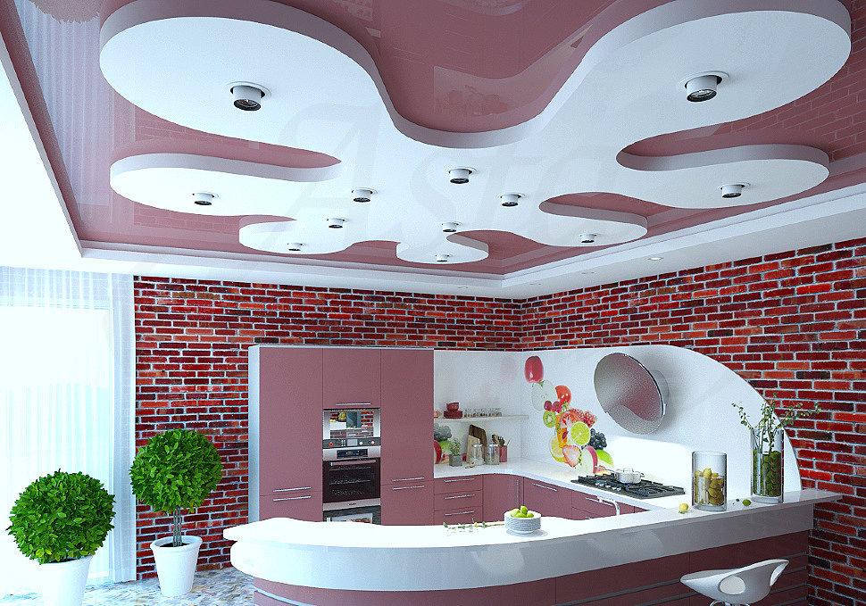 Модное решение для помещений — подвесные потолки!