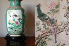 Китай по-французски: интерьер в стиле шинуазри