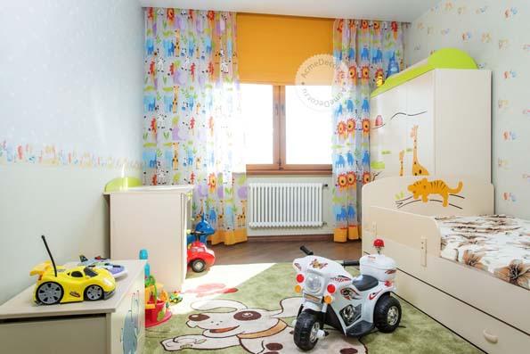 Особенности выбора штор в детскую