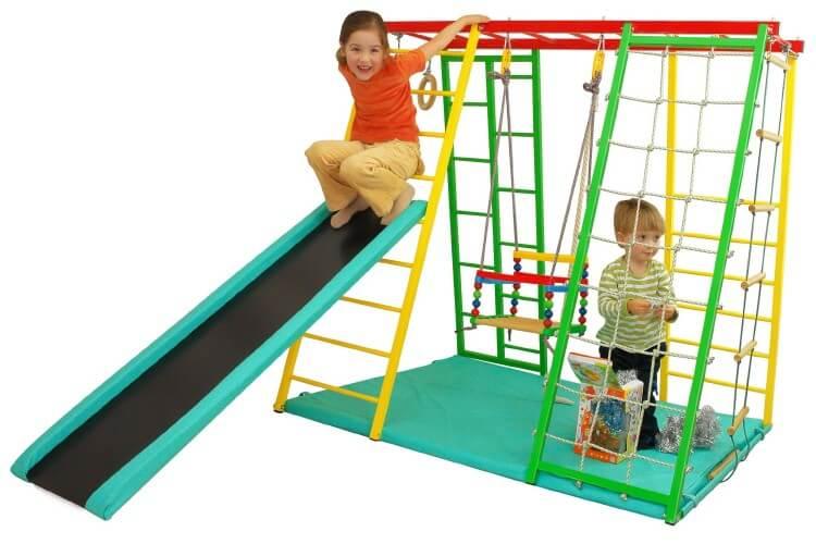 Как выбрать спортивную стенку для детской
