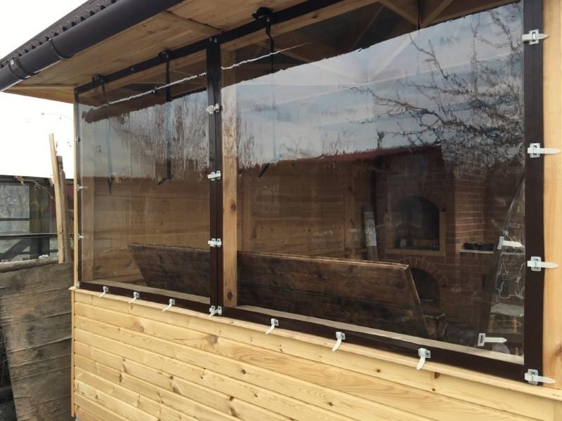 ПВХ пленка прозрачная Мягкое стекло для окон