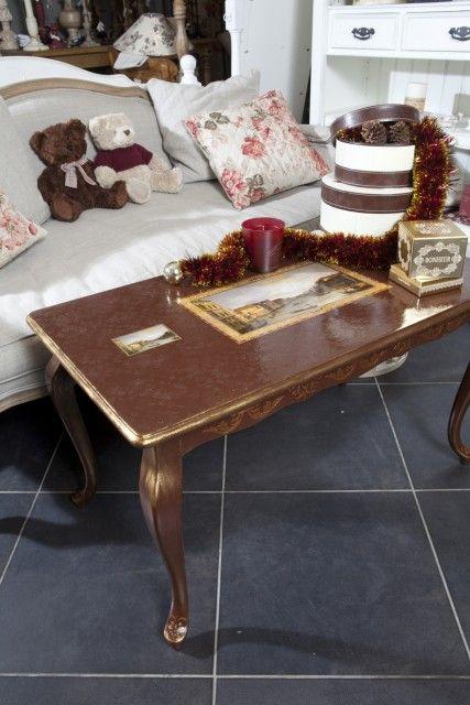Реставрируем старый деревянный столик