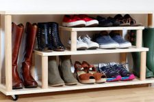 Этажерка для обуви в прихожую