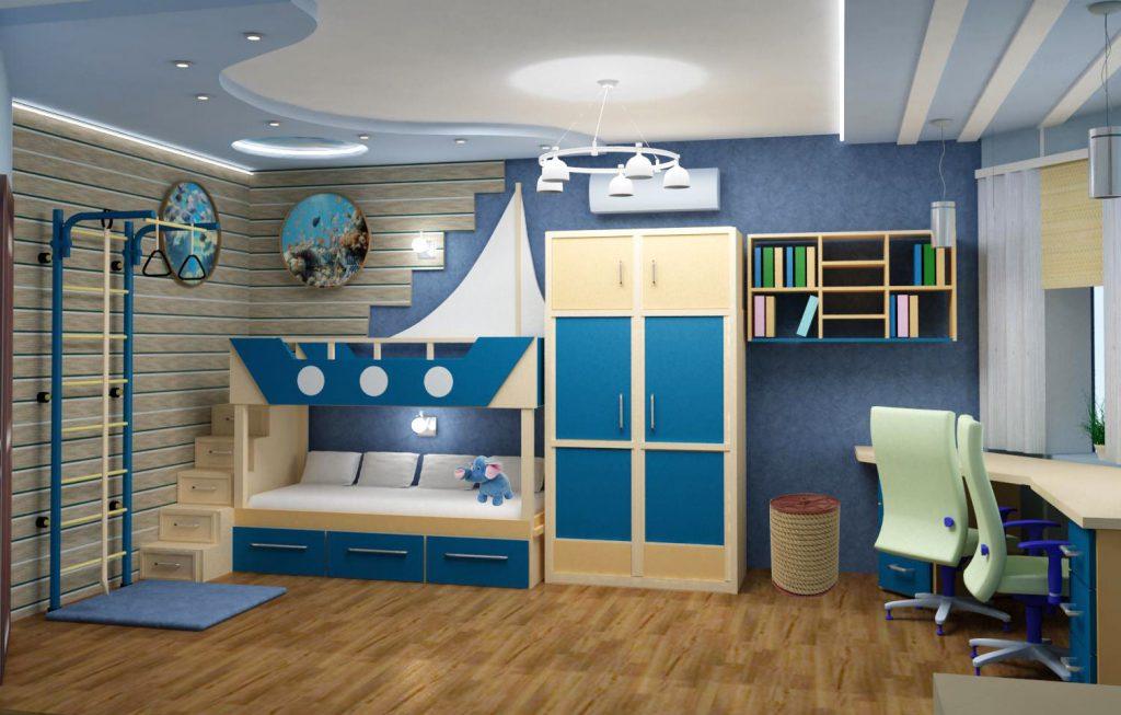 Идеи для детской комнаты: функциональность и креатив