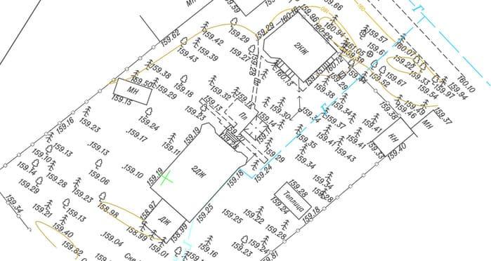 Топографический план земельного участка