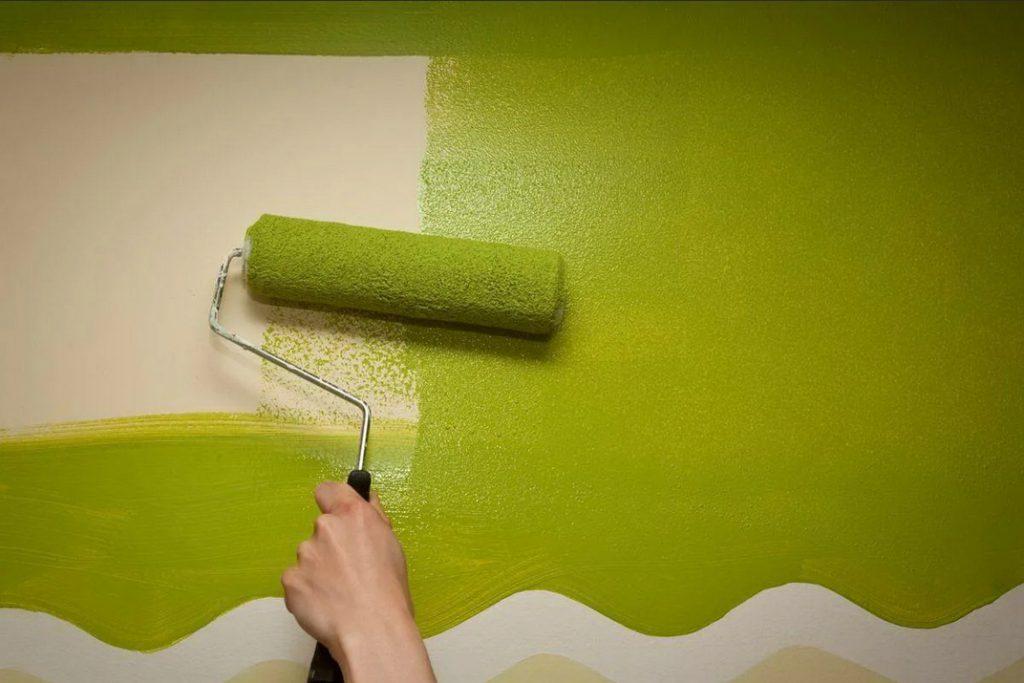 Ремонт своими руками: чем покрасить стены?