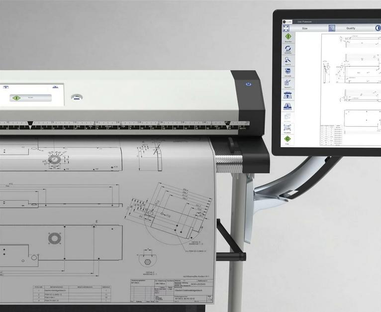 Копировальня – отсканировать чертеж большого формата в минимальные сроки