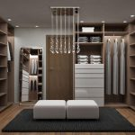 Гардеробные комнаты – стильное решение минимализма в интерьере