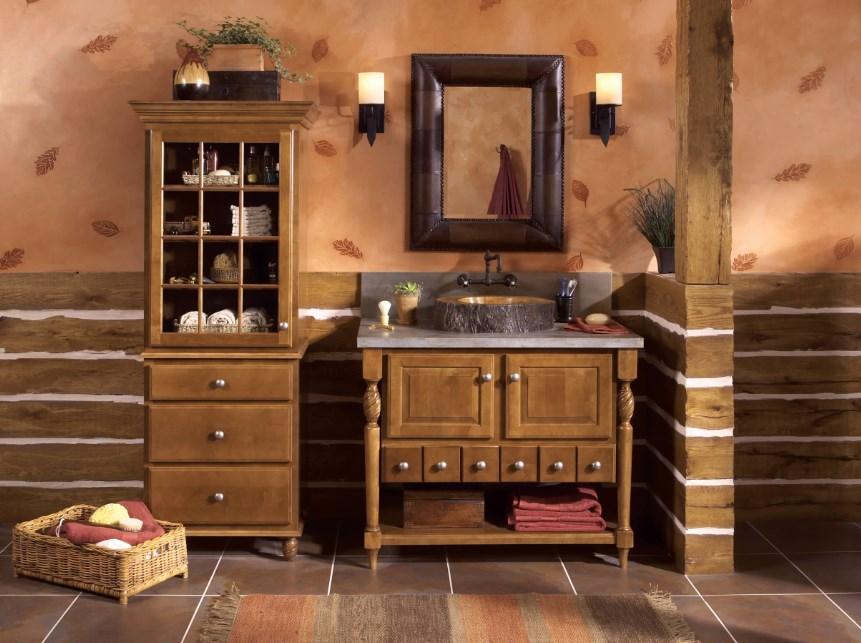 Мебель для ванной в стиле кантри: гармония и эстетика деревенского быта