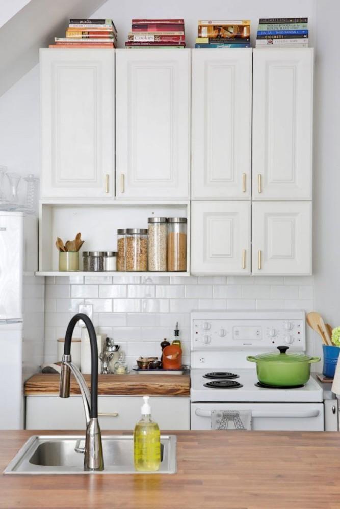 Идеи для кухни: подсветка пространства над кухонными шкафами