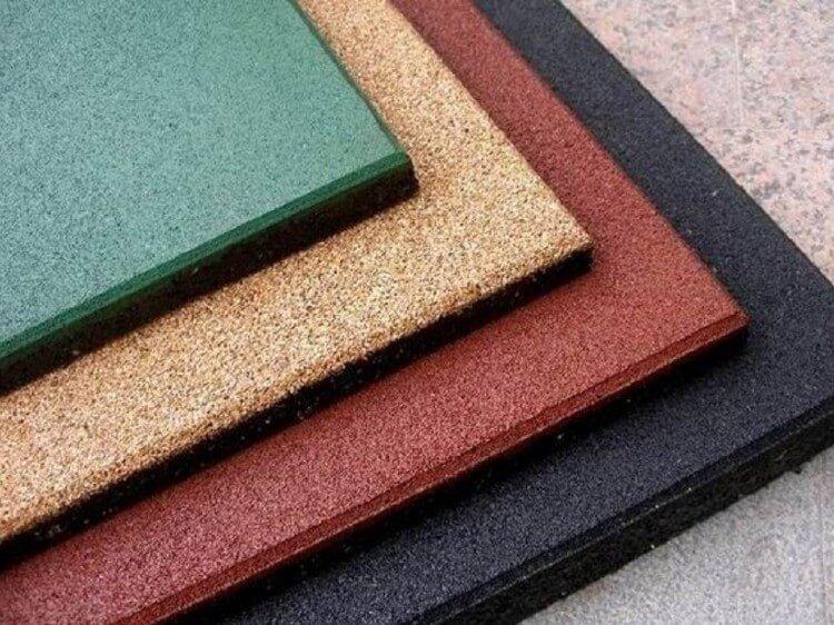 Современные резиновые покрытия
