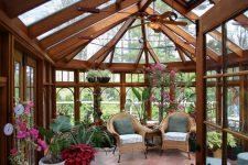 Проектирование и строительство зимнего сада
