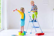 Что нельзя использовать во время ремонта в детской комнате?