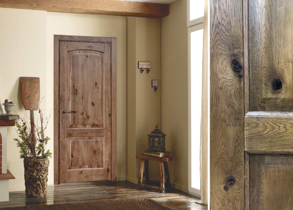 Ассортимент дверей из массива натурального дерева