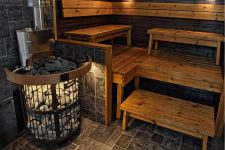 Важные моменты в дизайне интерьера бани